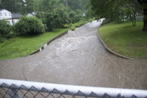 Creek flood