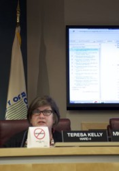 Councilor Teresa Kelly made the motion to go into executive session.