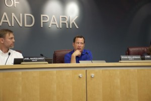 Roeland Park city council member Ryan Kellerman proposed a city vote on bond issues to support capital projects.