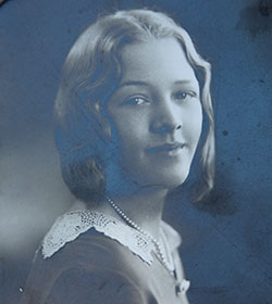 Gertrude Dake, the first member of the family to attend what is today SM North.
