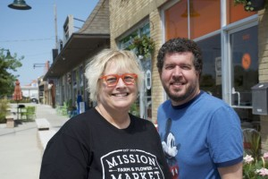 Sandi Russell and Kevin Fullerton helped start the Mission Business Partnership.