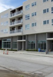 Residents have begin moving in to the Woodside Village apartments.