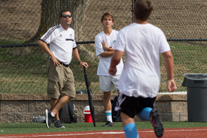 Coach Jamie Kelly is kicking off his tenth season as the head SM East soccer coach.