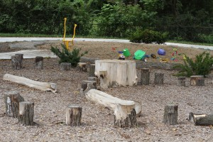 "Porter Park will include a ""nature play area"" similar to this one at Bennett Park when an improvement project is completed."