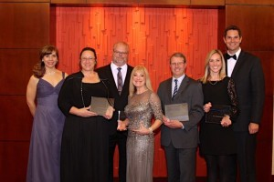 Previous Business Award winners.