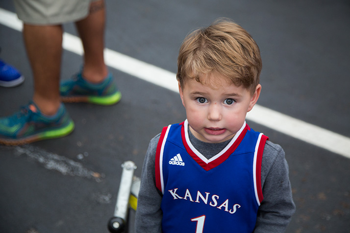 Sometimes I feel that way about KU football, too...