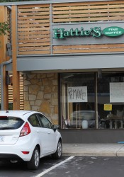 Hattie's Coffee at Corinth Square is closed for remodeling.