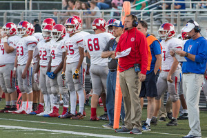 Bishop Miege's football program has proven it can compete with 5A and 6A schools in the Eastern Kansas League – but its low enrollment means the school can't compete for a big class state title.