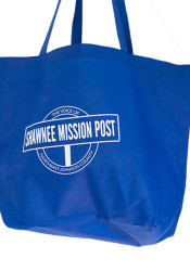 Donate $25 or more and you'll get a Shawnee Mission Post grocery tote and be the envy of everyone in the check out line!