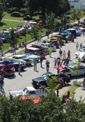 Turkey Creek car show