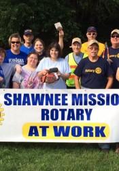 Rotary club work day