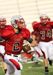 SM North quarterback Will Schneider