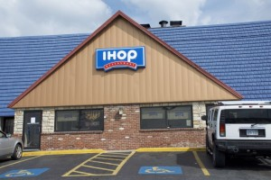 The IHOP at Shawnee Mission Parkway and Antioch.