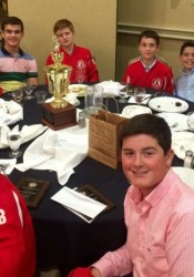 Members of the KC Angels at the sportsmanship banquet.