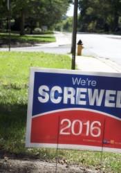 Were screwed