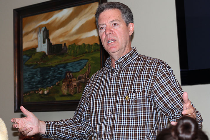 Gov. Sam Brownback.
