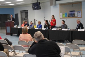 Candidates for state office in Northeast Johnson County attended a forum Saturday hosted by the SME PTA
