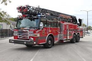 New aerial ladder truck purchased by CDF2