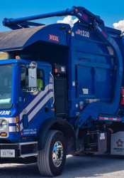 Republic Services will begin picking up trash in Prairie Village in January. Photo via Facebook.
