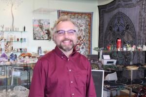 Eddie Smith, proprietor of Into the Mystic.