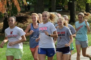 The Shawnee Mission North girls cross country team learned from last year's third-place finish at state and is ready for Saturday's state meet.
