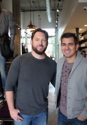 Buck Wimberly (left) and Joey Mendez are co-owners of Ulah.