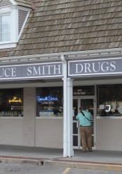 "Bruce Smith Drugs, a Prairie Village landmark since 1955, has closed for ""restructuring."""