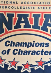 Shawnee Mission East soccer coach Jamie Kelly, left, and runner Will Clough  received the NAIA's Champions of Character award on Monday. (via @SMEAthletics/Twitter)