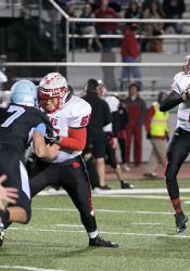 Shawnee Mission East quarterback Will Schneider sits atop the career passing yards list in Kansas with 8,901 yards.