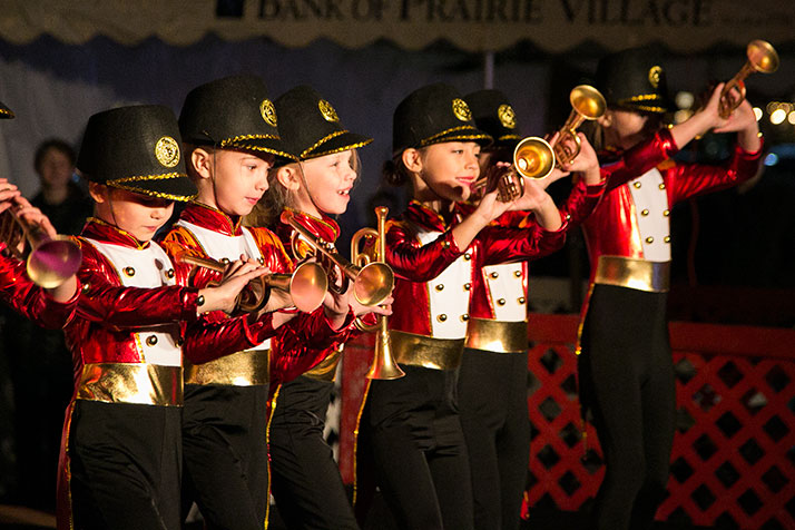 Dancerz Unlimited students put on a toy soldiers number.