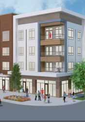 Avenue 81 will feature senior apartments for independent and assisted living on top of retail.