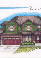 Rendering of new home being built at 4928 Fontana. (Courtesy MoJo Built)