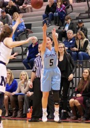Shawnee Mission East senior Kyle Haverty will be the Lady Lancers' go-to player this season.