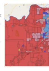 Johnson County prez vote breakdown