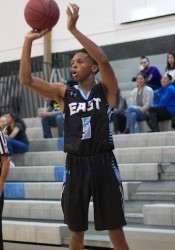 Shawnee Mission East junior Keyln Bolton believes he can play Division I basketball.