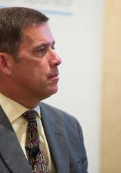 Superintendent Jim Hinson. File photo.