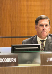 Superintendent Jim Hinson said Monday that the district was bracing for the possibility of significant cuts.