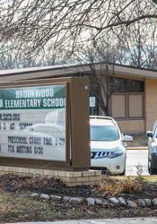 Brookwood Elementary will be demolished this summer to make way for a new elementary building.