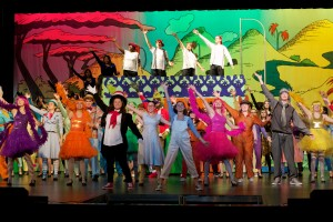 "The opening number from Shawnee Mission East's production of ""Seussical the Musical."""