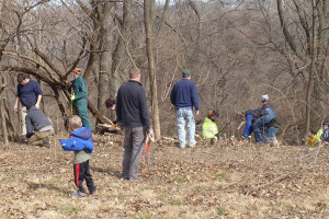 Roeland Park had an initial work day at Nall Park earlier this month. A second session is planned for mid-March.